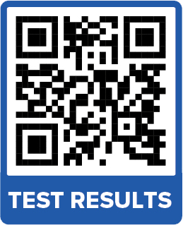 Test Results QR Code 300