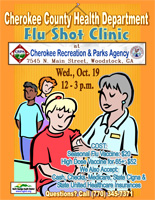 Cherokee County Flu Clinic